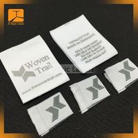 Free design wholesale fabric labels