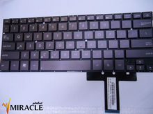 Ultrabook For ASUS UX31 keyboard UX31A Zenbook Prime series US PK130SQ1A00 9Z.N8JBU.G01 Black Brown