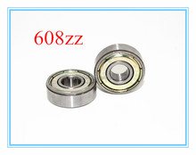 China Supplier High Speed 608zz Bearing 608 ZZ RS Bearing 8*22*7mm