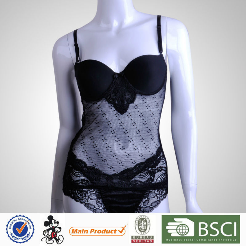 Most Beautiful Wide Style Young Girl Padded Sexy Lingere For Women