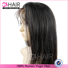 Remy indian human hair full lace wig bulk products from china