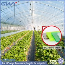Bayer raw material polycarbonate sheet greenhouse