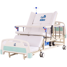 multi-functional health care bed manual nursing bed electric hospital bed for sale