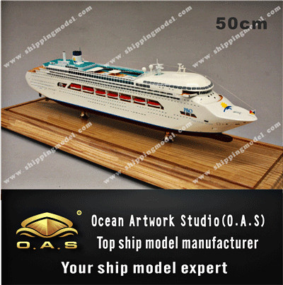 ship model _ Luxury Cruise model 08_O.A.S ship model factory