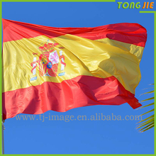 Customize with dye sublimation printing nylon fire retardant flags