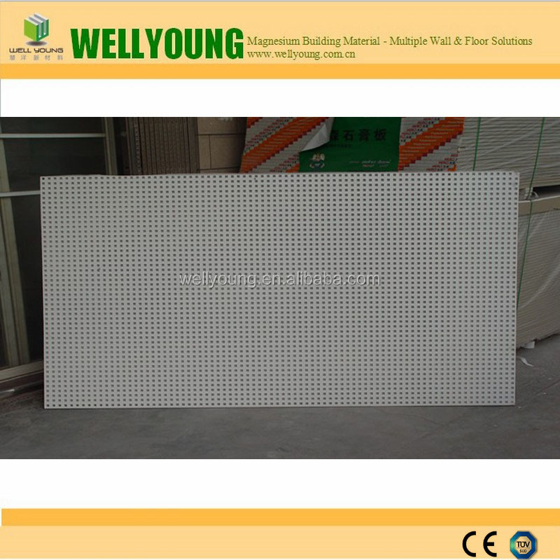 Square Hole Perforated Gypsum board