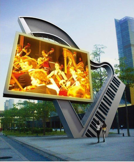 waterproof outdoor two double sided cabinet/two faces cabinet/one sided cabinet display outdoor video led display p10 p12 p16