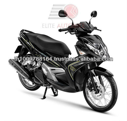 Nouvo SX 125 Cool Design Black 125cc Motorcycle EEC Scooter
