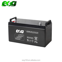 12v inverter solar battery 100ah rechargeable lead acid agm battery for light equipment
