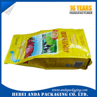 Full cream milk powder packaging material /side seal milk powder pouch 1kg