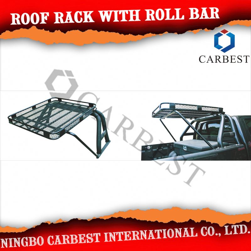 Good Quality Roll Bar with Roof Rack For Hilux 05-11