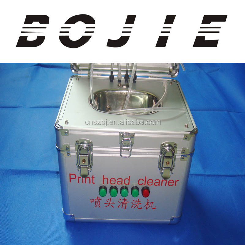 Universal ultrasonic cleaning machine for solvent and eco solvent printhead epson seiko konica polaris xaar all below