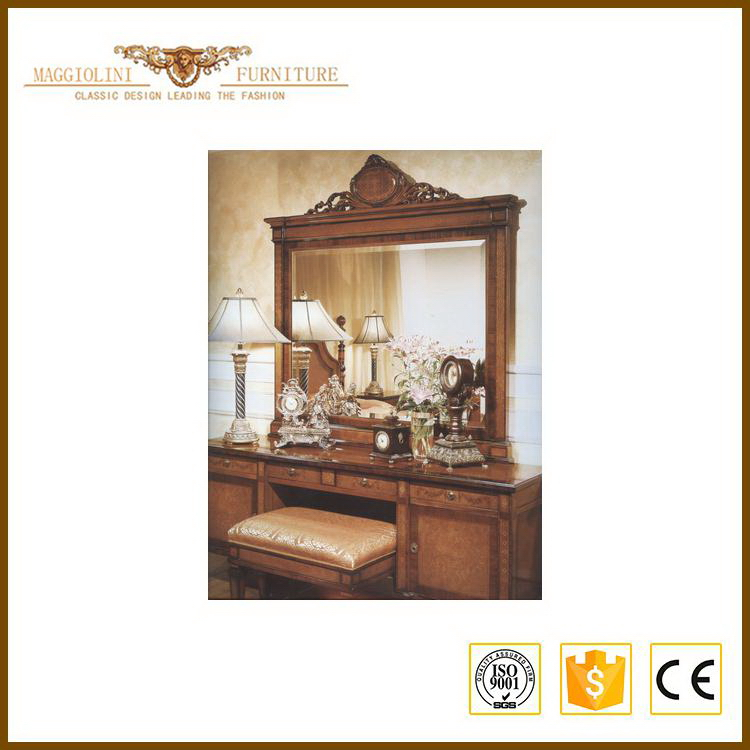 Shanghai manufactory high grade reclaimed wood bedroom furniture