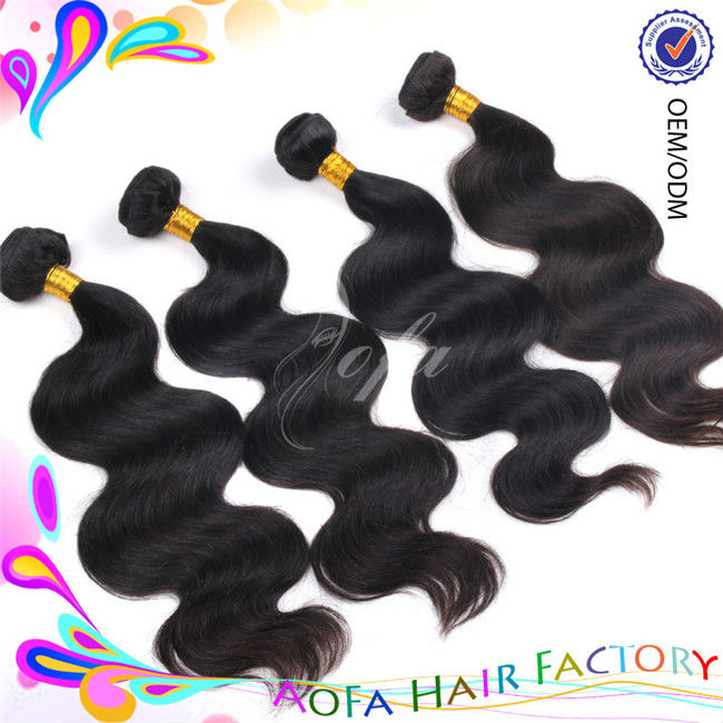 AAAAA grade top quality wholesale price 100% virgin brazilian loose body wave hair