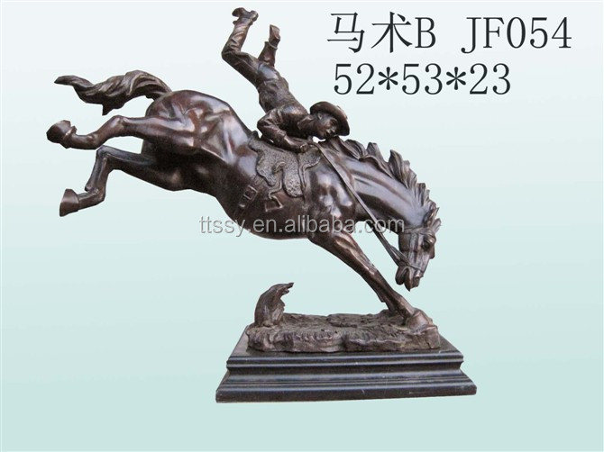 Bronze horse sculpture statue garden design
