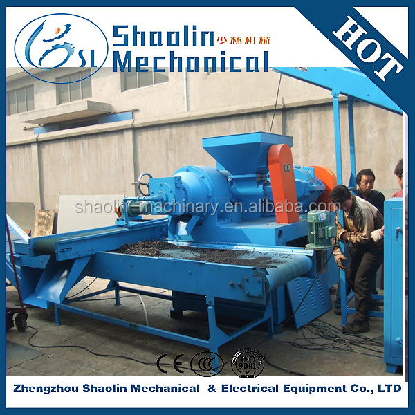 Environmentally friendly waste rubber crusher machinery with high capacity
