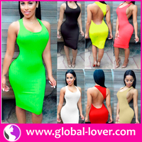 China Manufacturer Wholesale Women Sexy Bodycon Stock Clothes