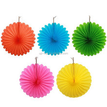 Chinese brand lower price making paper rosette fans
