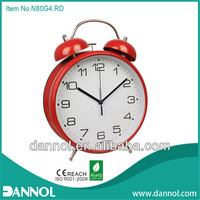 8 inch digital metal home decorative large table alarm clocks big size