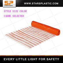 Made In China PE Meterial Orange Plastic Outdoor Safety Fence SF-A77-011