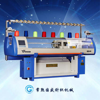 high speed collar automatic knitting machine with three system for home use