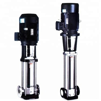 solar water pump system surface Deep well submersible vertical centrifugal pump