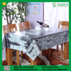 Stylish non-toxic rectangle banquet silicone table cloth