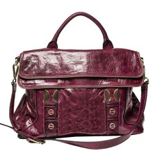 HD25-076 Purple lady business handbag custom korea fashion latest ladies handbags