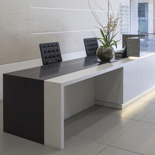 curva circular moderno mobiliario de oficina de atencin al pblico