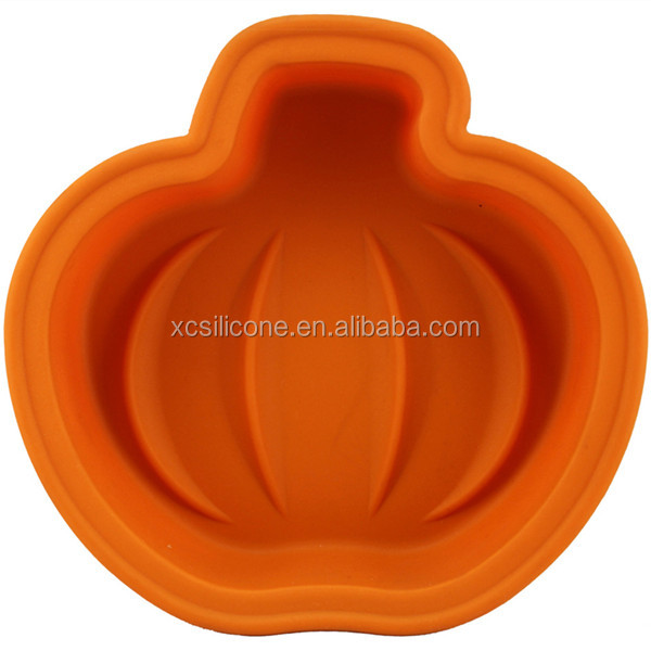 OEM unique various custom-made silicon pumpkin cake mold