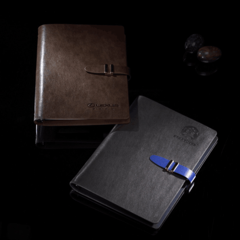 Best goal setting planner notebook with PU leather