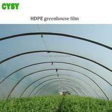 High light rate transparent hdpe tunnel plastic greenhouse film agriculture use