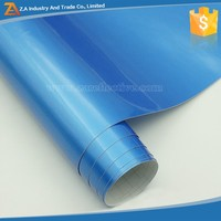 Bubble Free Wrap Pearl 3m Car Wrapping Glossy Blue Car Body Wrap Film Vinyl Roll for Car Body Wrapping Sticker