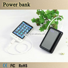 Factory price,dual usb external mobile power supply 8400mah battery charger