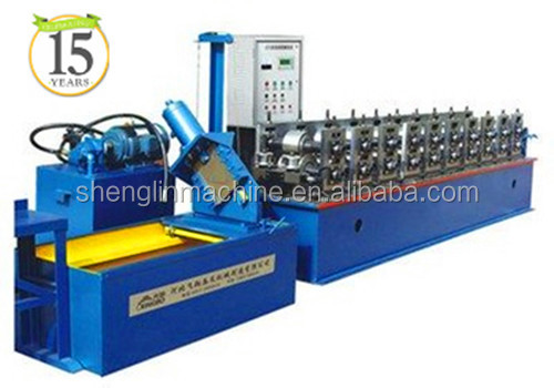 ISO,CE approved Omega/C/<strong>U</strong>/stud and track light keel roll forming machine