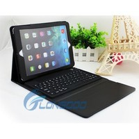 Wireless Silicone Bluetooth Keyboard PU Leather Unbreakable Protective Case for ipad iPad Air iPad 5