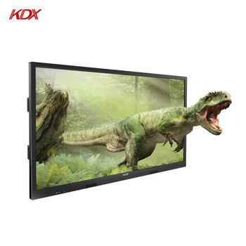 86 inch Intelligent Glasses-free 3D TFT Android Monitor Large Landscape LED Screen Display Digital Advertising Machine