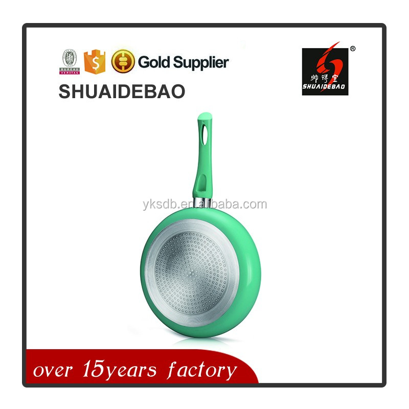 best selling double face frying pan with great waterproof