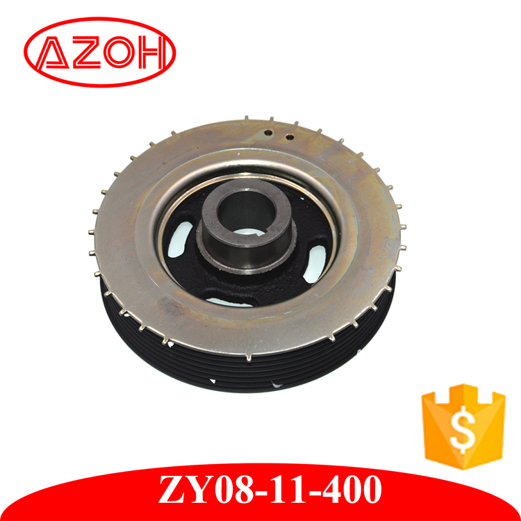 mazda spare parts Crankshaft belt Pulley ZY08-11-400 For engine 1600cc M3
