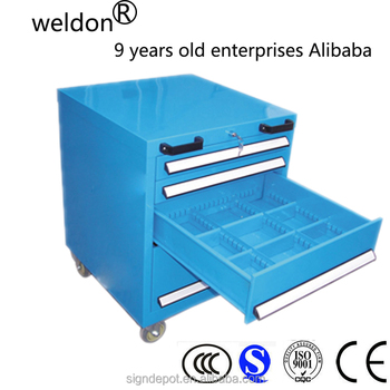 WELDON steel tool chest tool cabinet