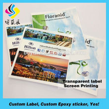 custom/economic full color photo paper signs banner rc car decals