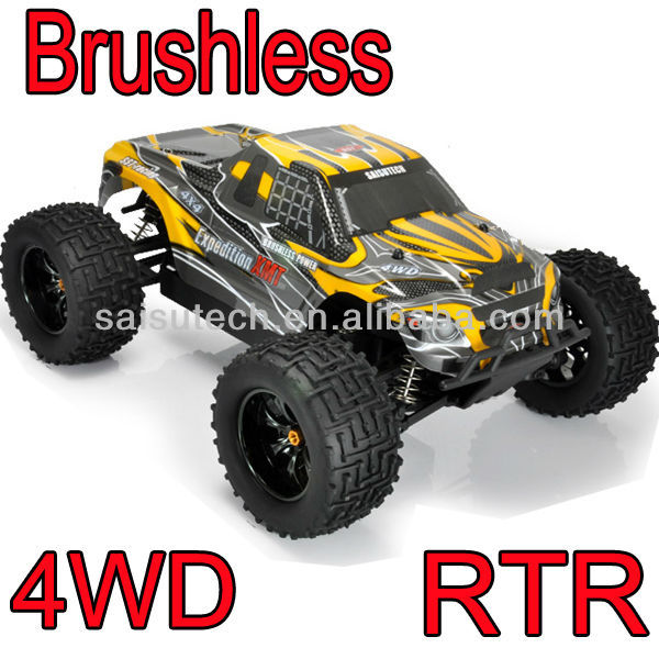 1/10 scale 4x4 rc truck 4wd off road rc brushless truck traxxas truck