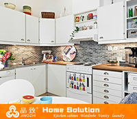 PVC kitchen cabinet cover customized kitchen cabinet