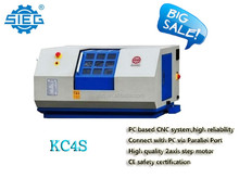 KC4S-Mach3 mini CNC lathe machine