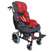 baby car seat aluminum wheelchair for cerebral palsy children