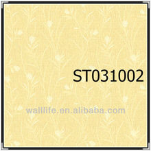 hot Chinese vinyl wallcovering interior project wallpaper for bathroom