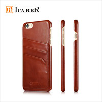 Vintage Genuine Leather Card Slots Case for iPhone 6 plus Back Cover
