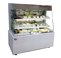 APEX open style upright movable cake display cooler