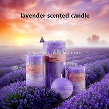 High quality machine grade Colour Changing square pillar Candle
