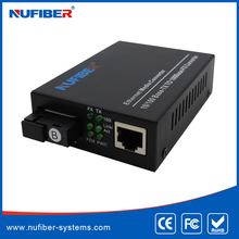 10/100M 20km Bidi SC Single mode Fiber optical Media Converter for CCTV Security systems